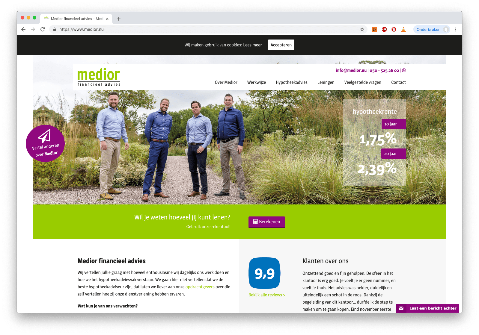 Medior financieeladvies