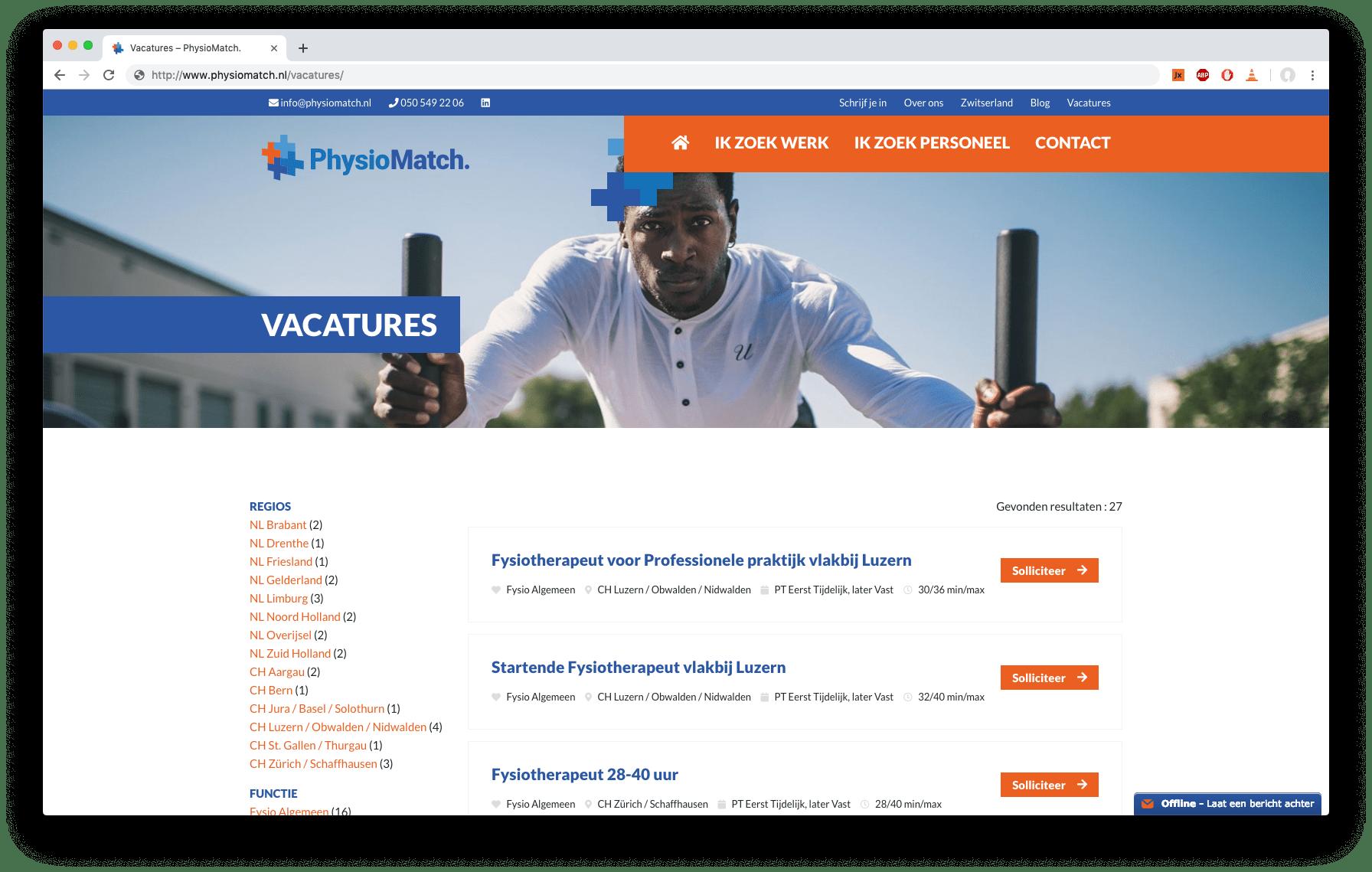 PhysioMatch.